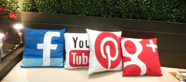 Social Networking Pillows