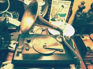 mini gramaphone for 45rpm records
