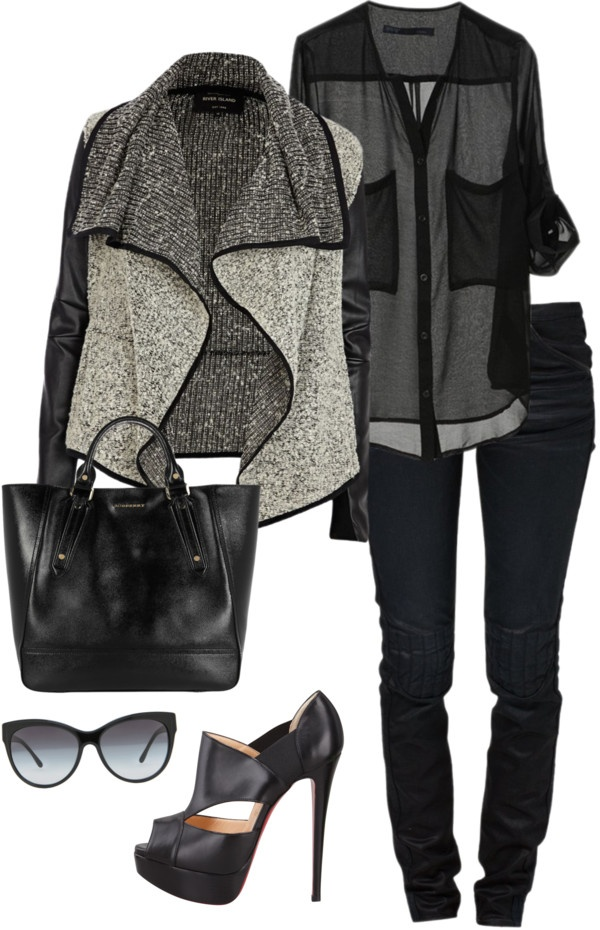 Black from Polyvore