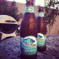 Kona Beer. Ice Cold Golden Ale