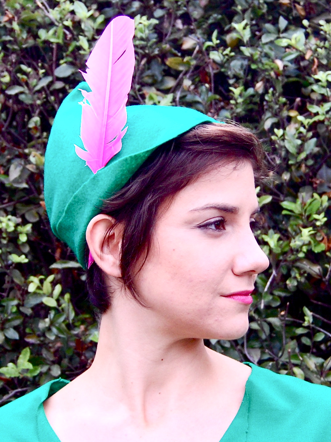 how to make a peter pan costume