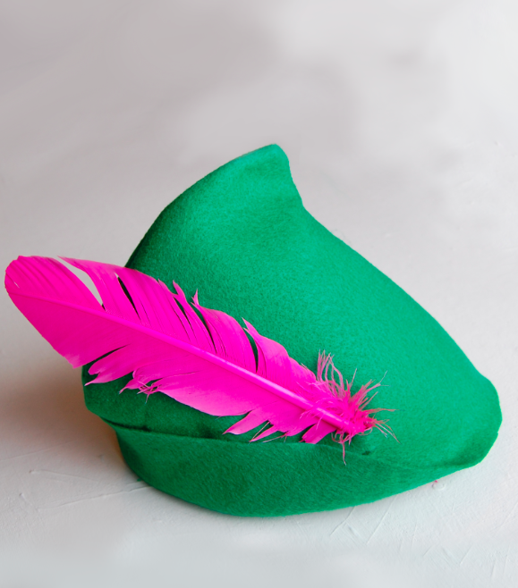 Canny image for peter pan hat pattern printable