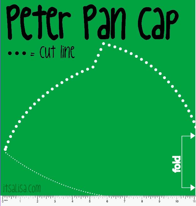 peter pan hat Peter Pan Hat pattern  sc 1 st  itsaLisa & How to make a Peter Pan Costume | DIY Video | itsaLisa