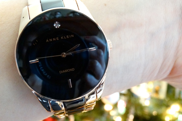 Anne Klein watch love | itsaLisa.com