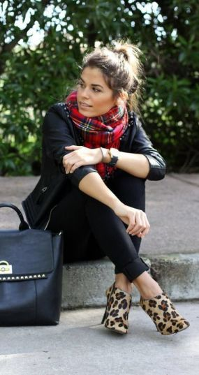 black with classic accessories | itsaLisa.com