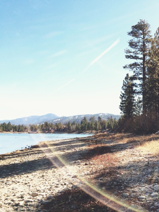 Big Bear Lake, lensflare | itsaLisa.com