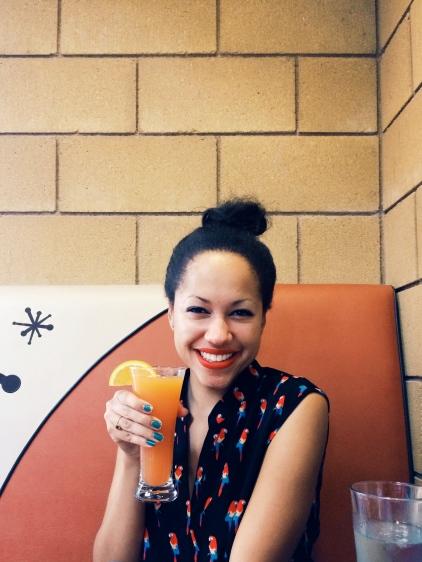 happy mimosa