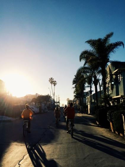 mission beach bike ride at sunset - itsaLisa.com