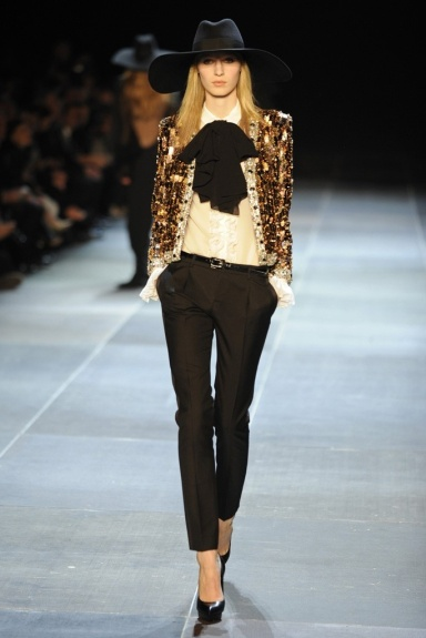 Saint Laurent Runway