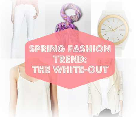 Spring Fashion: THE WHITE OUT