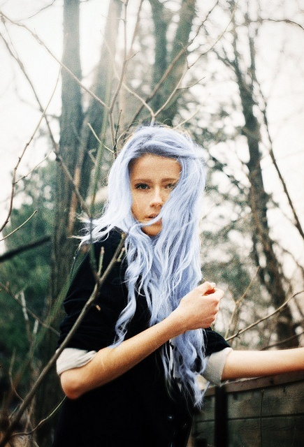 Light Blue Inspiration: Gorgeous Colored Hair | itsaLisa.com