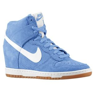 Light Blue Inspiration: Nike Sneaker Wedges | itsaLisa.com