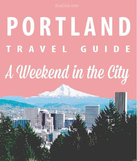 Portland Unanchor Travel Guide - Three Days Livin as a True and Local Portlander