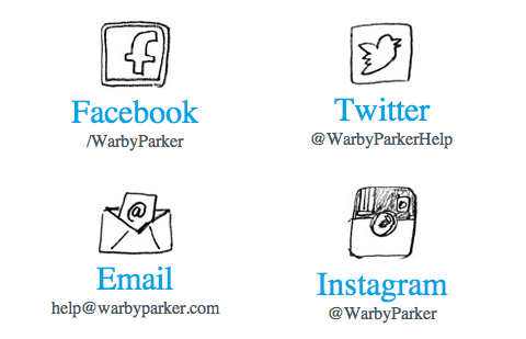 Connect with Warby Parker on Social Media | WarbyParker.com
