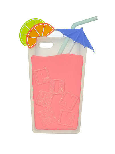 Pink Cocktail iPhone 5 Case (Victoria Secret) | New hot looks for summer that will keep your phone safe, on itsaLisa.com