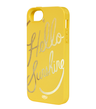 Hello Sunshine iPhone 5 Case (Rifle Paper Co) | New hot looks for summer that will keep your phone safe, on itsaLisa.com ;)