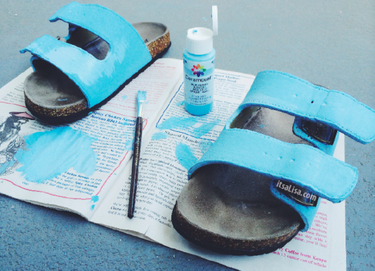 how to make your own birkenstocks