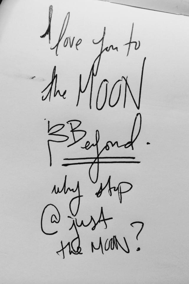 I love you to the moon and BEYOND | itsaLisa.com