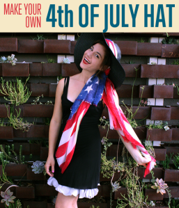 make your own 4th of July Hat with @itsa_Lisa of itsaLisa.com | DiyReady.com