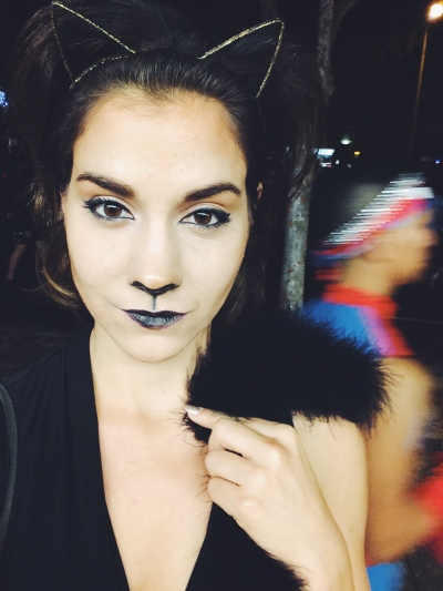 cat makeup halloween costume