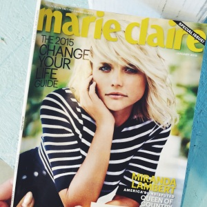 marie claire January 2015