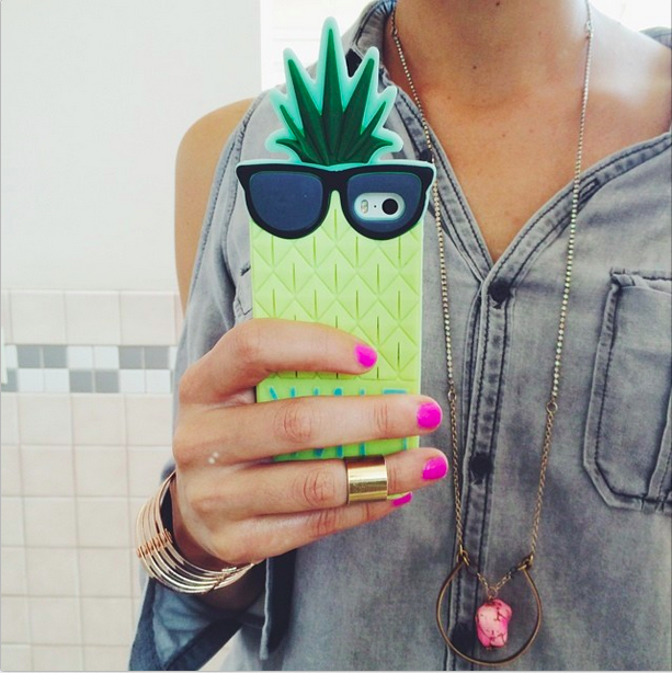 pineapple phone case iphone 5 iphone 6