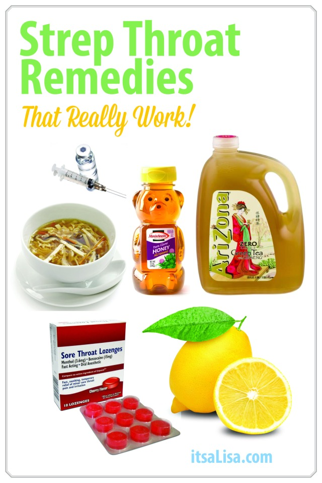 Strep Throat Remedies That Really Work! (Seriously, I beat off Strep Throat in just 24 hours!!!) | istaLisa.com
