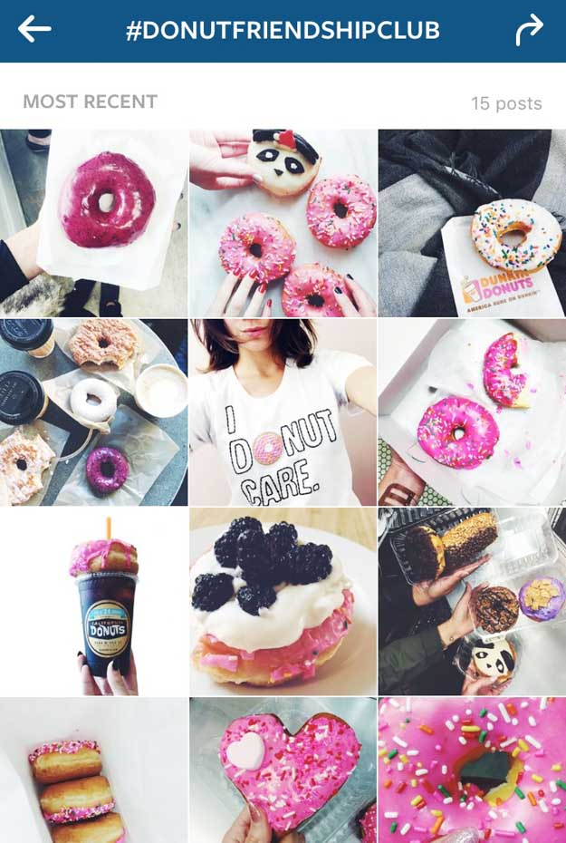 Donut Friendship Club Instagram #DONUTFRIENDSHIPCLUB | Keep Reading For 7 Donut Tips That Will DEFINITELY Change Your Life at https://itsalisa.com/2016/01/31/california-donuts/