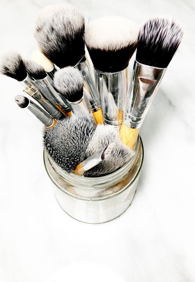 How To Wash Makeup Brushes With Zote Soap