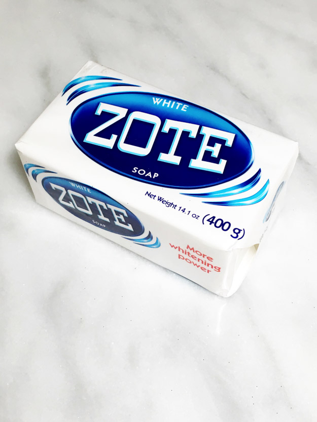 ZOTE Soap is a wonderful cheap cleaning product with many alternative uses. Wash your laundry, do your dishes, even clean your makeup brushes! ZOTE is the beauty industry's secret to perfectly clean makeup brushes on a budget. (Available at Walmart or Amazon) Read more here: https://itsalisa.com/2016/03/01/wash-makeup-brushes-zote-soap/