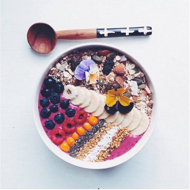 Smoothie Bowl by @anniskk | Muesli Recipes
