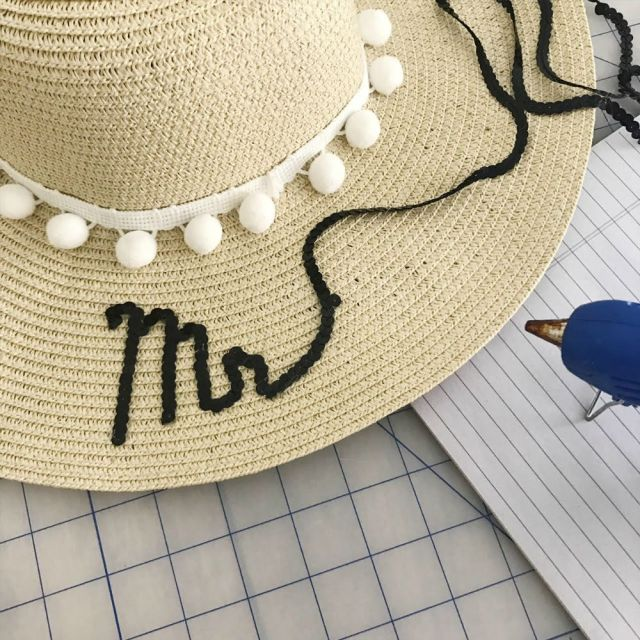 DIY Embroidered Sun Hat (Easy No Sew Tutorial)